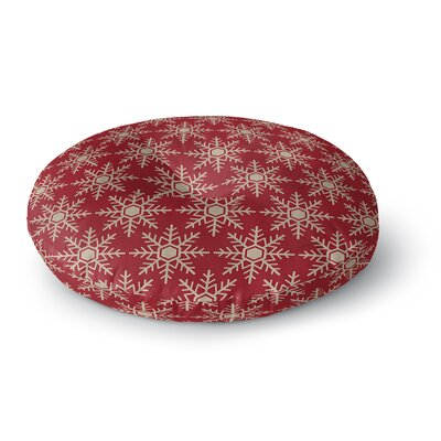 Flakes Floor Pillow Size: 26 H x 26 W x 12.5 D