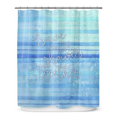 Shower Together 90 Shower Curtain