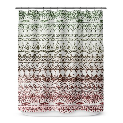 Christmas Glitter 72 Shower Curtain