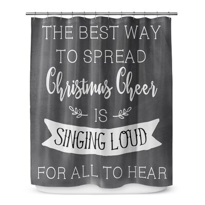 Christmas Cheer 72 Shower Curtain