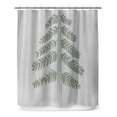 Tree 72 Shower Curtain
