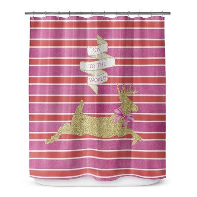 Deer Joy 72 Shower Curtain