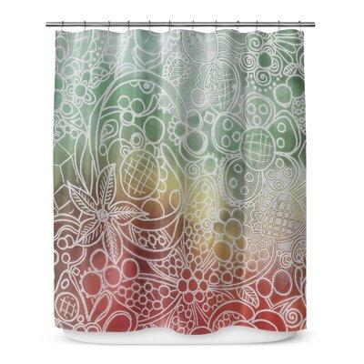 Christmas Bling 72 Shower Curtain