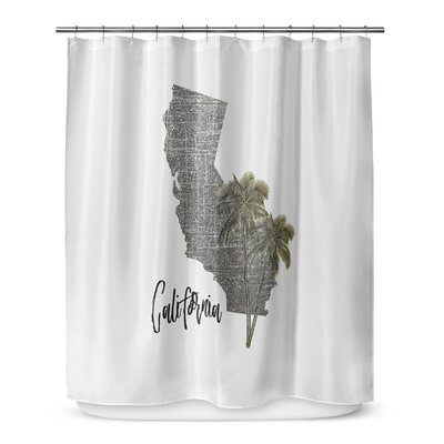 California 72 Shower Curtain