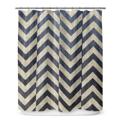 Chevron Cut 72 Shower Curtain