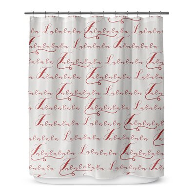 Lalala 72 Shower Curtain