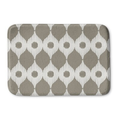 Forest Rain Memory Foam Bath Rug Size: 24 W x 36 L, Color: Gray