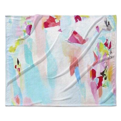 Tattoo Testimonial Fleece Throw Blanket Size: 90 W x 90 L