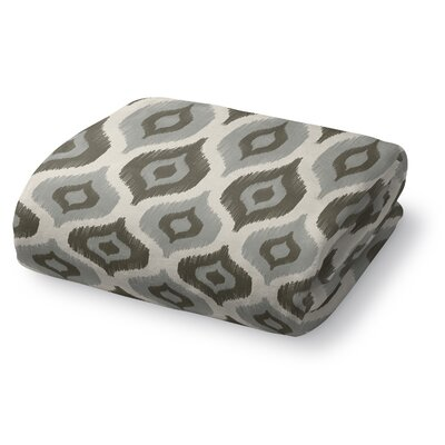 Underhill Fleece Throw Blanket Color: Gray, Size: 90 W x 90 L