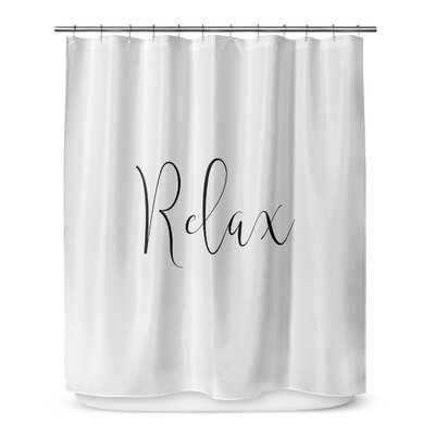 Relax 72 Shower Curtain