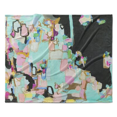 Valley of the Dolls Fleece Throw Blanket Size: 90 W x 90 L