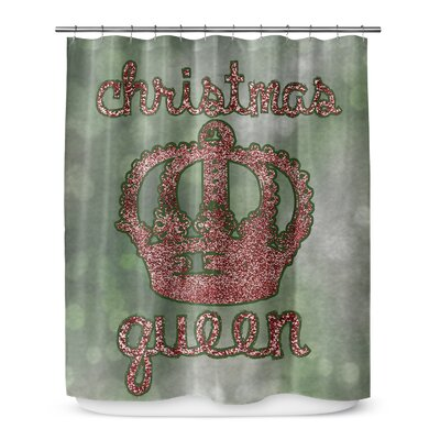 Christmas Queen 72 Shower Curtain
