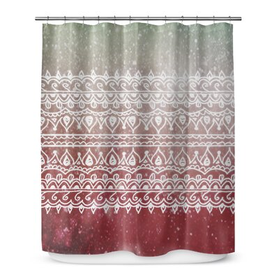 Christmas Henna 72 Shower Curtain