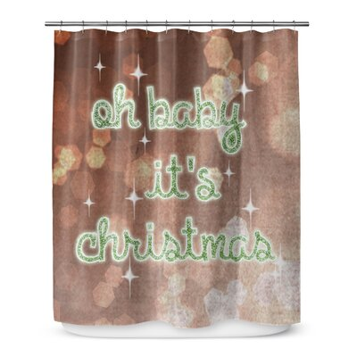 Oh Baby Its Christmas 72 Shower Curtain