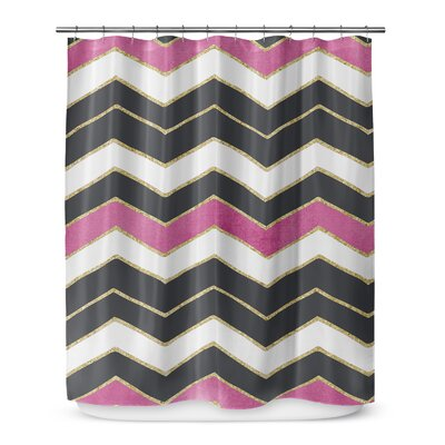 Chevron 72 Shower Curtain