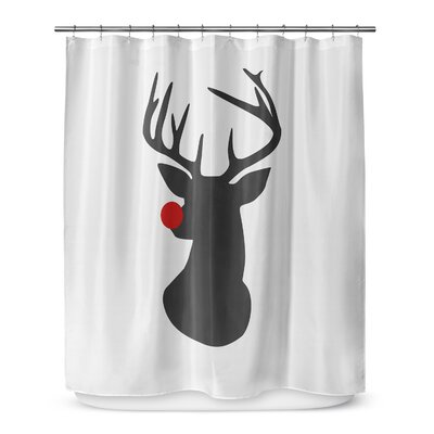 Rudolph 72 Shower Curtain