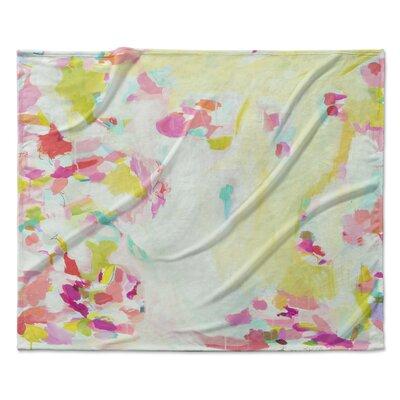 SHC Sheer Scarf Fleece Throw Blanket Size: 30 W x 40 L
