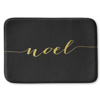 Noel Bath Rug Size: 24 W x 36 L