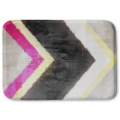 Arrow Memory Foam Bath Rug Size: 24 W x 36 L