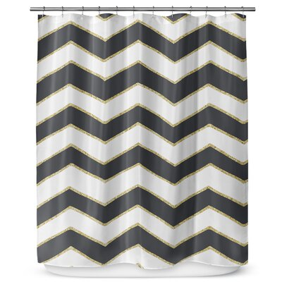 Chevron 90 Shower Curtain