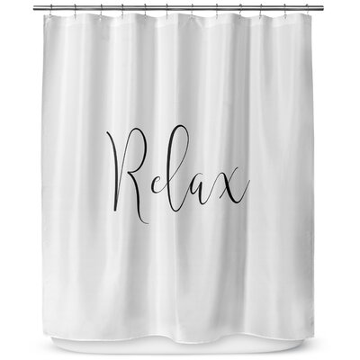 Relax 90 Shower Curtain