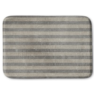 Faded Stripes Memory Foam Bath Rug Size: 24 W x 36 L
