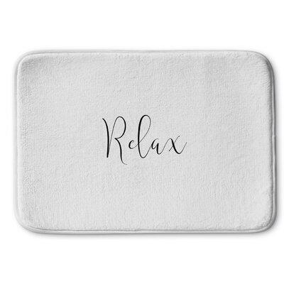 Relax Memory Foam Bath Rug Size: 24 W x 36 L