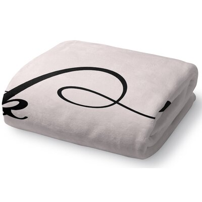 On Fleek Fleece Throw Blanket Size: 50 W x 60 L