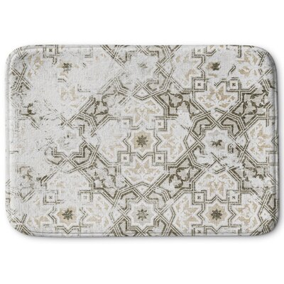 Esther Memory Foam Bath Rug Size: 24 W x 36 L, Color: Gray