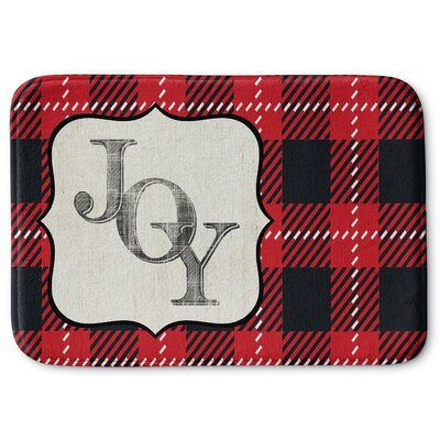 Joy Memory Foam Bath Rug Size: 17 W x 24 L