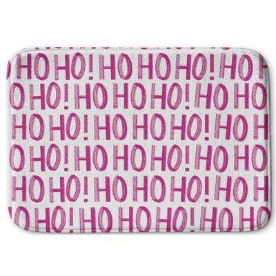 Hohoho Memory Foam Bath Rug Size: 24 W x 36 L, Color: White