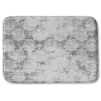 Victoire Memory Foam Bath Rug Size: 24 W x 36 L, Color: Light Gray