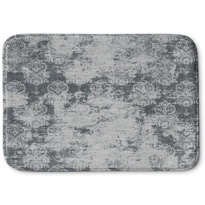 Victoire Memory Foam Bath Rug Size: 24 W x 36 L, Color: Gray