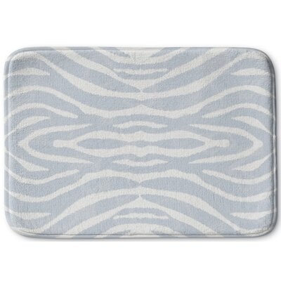 Nerbone Memory Foam Bath Rug Size: 17 W x 24 L, Color: Light Blue