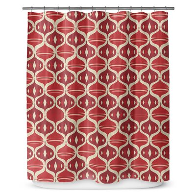 Holiday Ogee 90 Shower Curtain