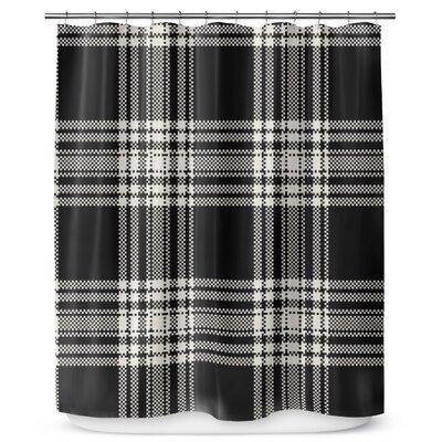 Plaid 90 Shower Curtain