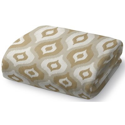 Harmony Fleece Throw Blanket Size: 30 W x 40 L, Color: Tan