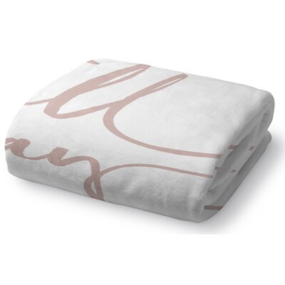 Bomaderry Fleece Throw Blanket Size: 60 W x 80 L
