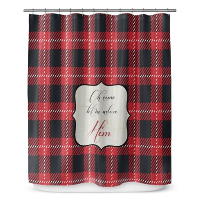 Adore Him 90 Shower Curtain
