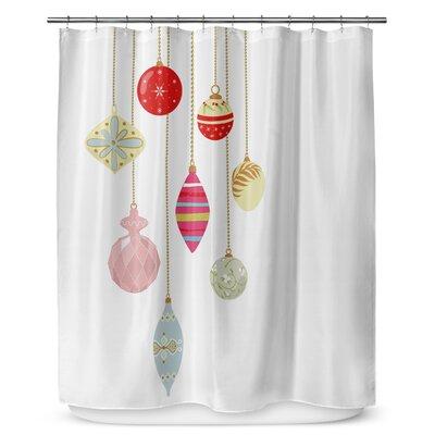 Christmas Bling 90 Shower Curtain