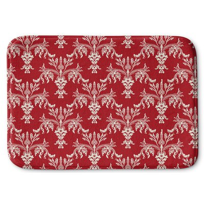 Christmas in Plaid 3 Memory Foam Bath Rug Size: 24 W x 36 L