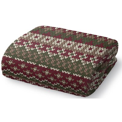 Mollien Fleece Throw Blanket Size: 50 W x 60 L