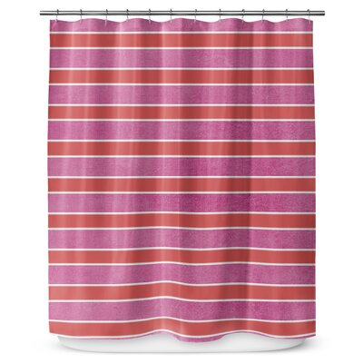 Stripes 90 Shower Curtain