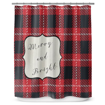 Merry and Bright 90 Shower Curtain