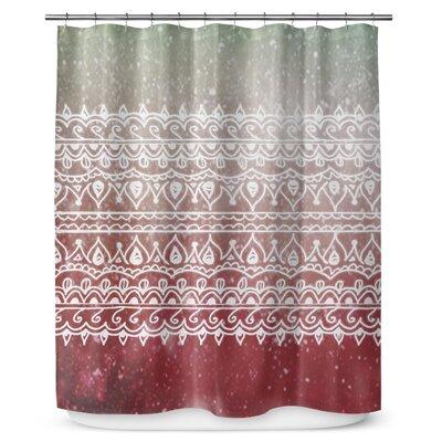 Christmas Henna 90 Shower Curtain