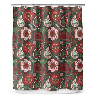 Boho Christmas 90 Shower Curtain