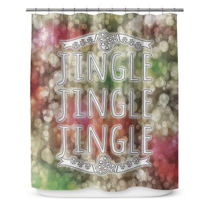 Jingle Jingle Jingle 90 Shower Curtain