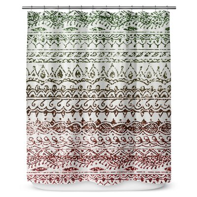 Christmas Glitter 90 Shower Curtain