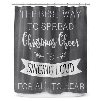 Christmas Cheer 90 Shower Curtain