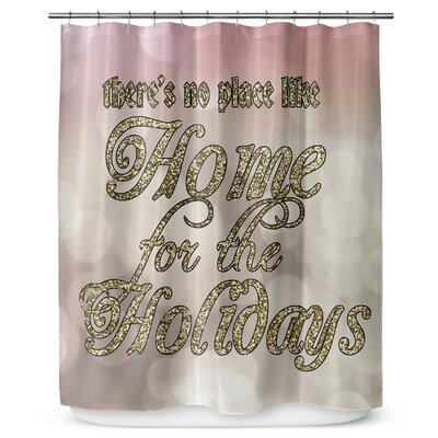 Home for the Holidays 90 Shower Curtain